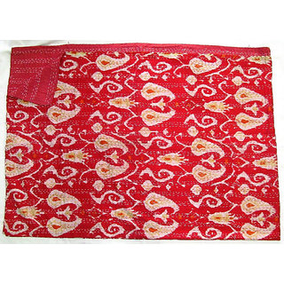 Handmade Kantha Buy Bed Covers Online india Reversible Throw Ralli Decorative