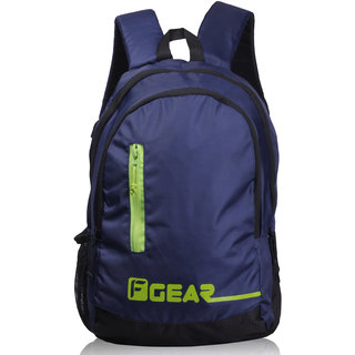F Gear Bi Frost 25L Casual Backpack(Navy Blue Green)