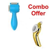 Deemark Multi Function Brain Comfort Massager  With Eye Exercise Massager Combo Pack