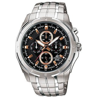Original Casio Edifice Multi Dials EF-328D-1AVDF(ED375) Men's Personalized Watch