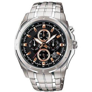 Original Casio Edifice Multi Dials EF-328D-1AVDF(ED375) Men's Personalized Watch
