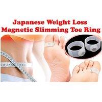 1 Pair Magnetic Toe Ring