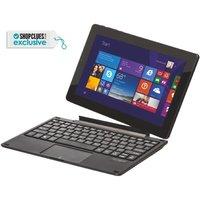 DATAMINI  TWG10 2-in-1 (Touchscreen) Quad Core/ 2GB/32 GB/ Windows 10 Laptop