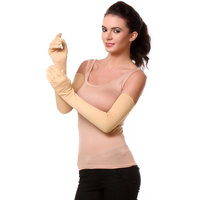Oshop Trades Full Hand Skin Gloves for Women - Set of 1-24 size