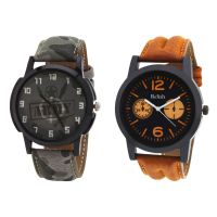 Relish Analog Round Casual Wear Watches Combo for Mens RELISH-1055C