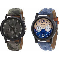 Relish Analog Round Casual Wear Watches Combo for Mens RELISH-1059C