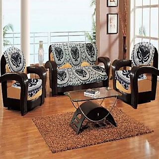 High Quality Polyester Cotton Sofa Cover Set Of 10 Pieces