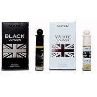 Mayur White London 8ml and Black London 8ml Attar Combo