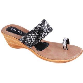 Balujas Black Sandals