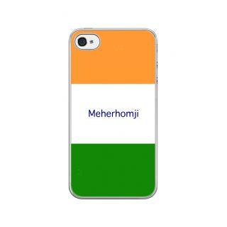 Flashmob Premium Tricolor HL Back Cover - iPhone 4/4S -Meherhomji
