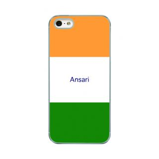 Flashmob Premium Tricolor HL Back Cover - iPhone 5/5S -Ansari