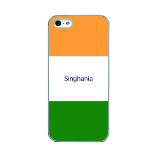 Flashmob Premium Tricolor HL Back Cover - iPhone 5/5S -Singhania