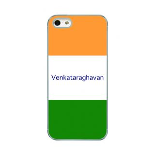 Flashmob Premium Tricolor HL Back Cover - iPhone 5/5S -Venkataraghavan