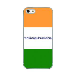 Flashmob Premium Tricolor HL Back Cover - iPhone 5/5S -Venkatasubramanian