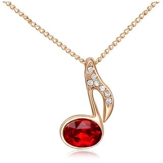 Kaizer Hotshot Red Gold Plated Pendent