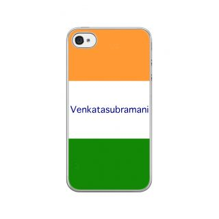 Flashmob Premium Tricolor HL Back Cover - iPhone 4/4S -Venkatasubramani