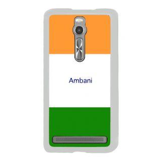 Flashmob Premium Tricolor HL Back Cover Asus Zenfone 2 -Ambani