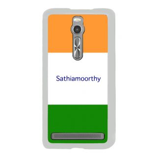 Flashmob Premium Tricolor HL Back Cover Asus Zenfone 2 -Sathiamoorthy