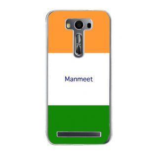 Flashmob Premium Tricolor HL Back Cover Asus Zenfone 2 Laser ZE500KL -Manmeet