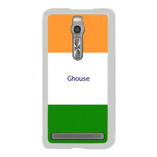 Flashmob Premium Tricolor HL Back Cover Asus Zenfone 2 -Ghouse