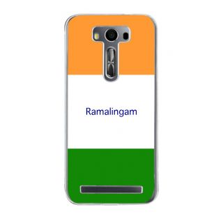 Flashmob Premium Tricolor HL Back Cover Asus Zenfone 2 Laser ZE500KL -Ramalingam