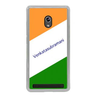 Flashmob Premium Tricolor HL Back Cover Asus Zenfone 5 -Venkatasubramani