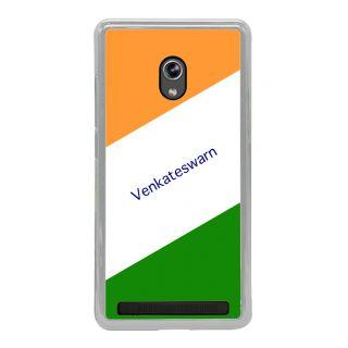 Flashmob Premium Tricolor HL Back Cover Asus Zenfone 5 -Venkateswarn