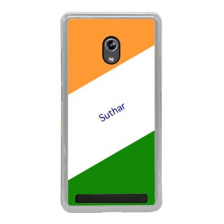 Flashmob Premium Tricolor HL Back Cover Asus Zenfone 6 -Suthar