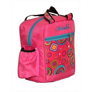 Attache Padded 1 Container Box (Pink) Waterproof Lunch Bag     (Multicolor 4 L)