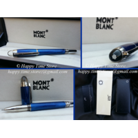 Mont Blanc Starwalker Cool Blue Rollerball Pen With Box And Manual