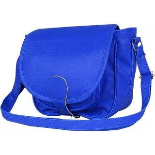 Chhavi blue PU Sling Bag