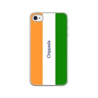 Flashmob Premium Tricolor VL Back Cover - iPhone 4/4S -Chippada