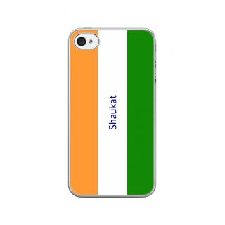 Flashmob Premium Tricolor VL Back Cover - iPhone 4/4S -Shaukat