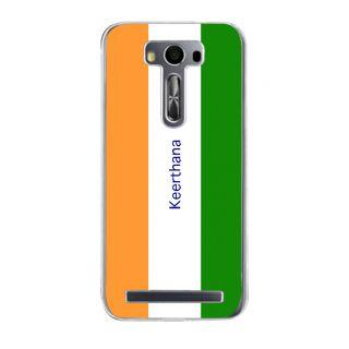 Flashmob Premium Tricolor VL Back Cover Asus Zenfone 2 Laser ZE500KL -Keerthana