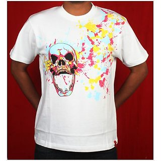 Point Blank White T Shirt By Cotton Candy