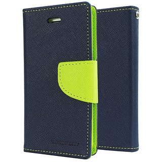 ClickCases Mercury Flip Cover For one plus two -Blue