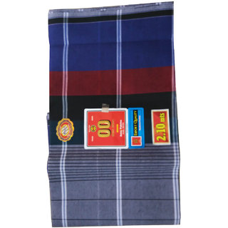 Export Quality Cotton Lungi Pack of 2