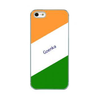 Flashmob Premium Tricolor DL Back Cover - iPhone 5/5S -Goenka