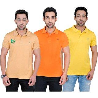 Fabnavitas Mens Cotton Polo T-shirt Pack of 3