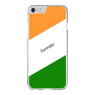 Flashmob Premium Tricolor DL Back Cover - iPhone 6 Plus/6S Plus -Gurinder