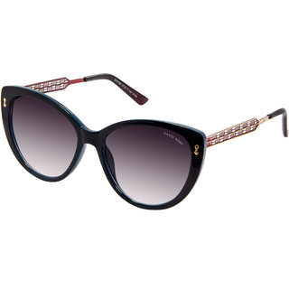 David Blake Gradient UV Protected  Cateye Sunglass
