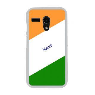 Flashmob Premium Tricolor DL Back Cover Motorola Moto G -Nandi