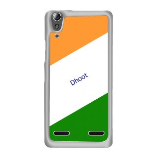 Flashmob Premium Tricolor DL Back Cover Lenovo A6000 -Dhoot