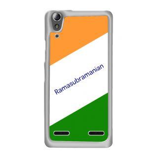 Flashmob Premium Tricolor DL Back Cover Lenovo A6000 Plus -Ramasubramanian