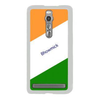 Flashmob Premium Tricolor DL Back Cover Asus Zenfone 2 -Bhowmick