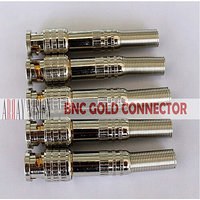 ARRAY VISION BNC GOLD HIGH QUALITY CONNECTORS WITH COPPER CORE (PACK OF 10 PIECES)