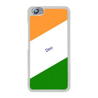 Flashmob Premium Tricolor DL Back Cover Micromax Canvas Fire 4 A107 -Deo