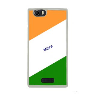 Flashmob Premium Tricolor DL Back Cover Micromax Nitro 2 E311 -Misra