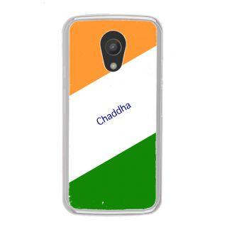 Flashmob Premium Tricolor DL Back Cover Motorola Moto G2 -Chaddha