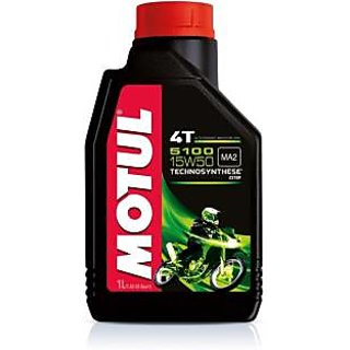 Motul 5100 15W50 Technosynthese Engine Oil(1000 ml)
